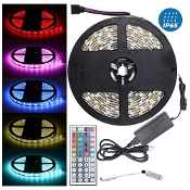 Waterproof  High Density RGB LED Strip Light 44 Key Remote