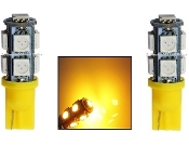 9 SMD - Miniature Wedge Retrofit - Amber / Yellow
